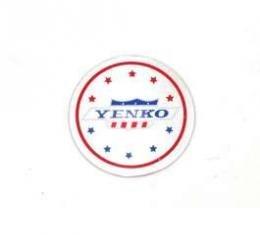 Camaro Wheel Ornament Decal, Yenko, 1967-1981