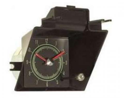 Camaro Quartz Clock, Dash, Center, 1969