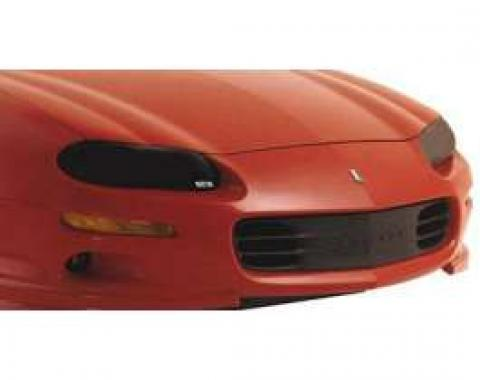 Camaro Headlight Covers, Clear, 1998-2002