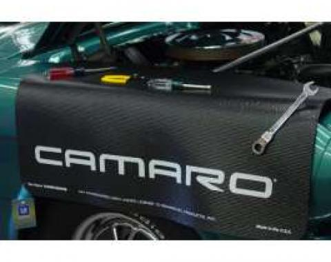 Fender Gripper® Cover, Black with Camaro Logo in Block Letters