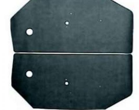 Camaro Door Panel Watershield Set, Convertible, 1967