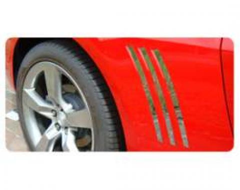 Camaro Side Louver Inserts, 2010-2013