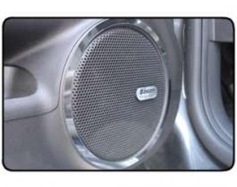 Camaro Speaker Trim Rings, Door, For Boston Acoustics System, 2010-2011