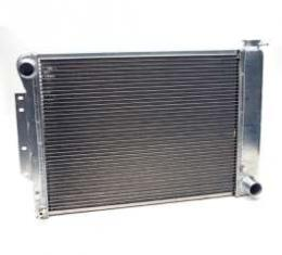 """Camaro Radiator, Aluminum, 23"""", Griffin HP Series, For Cars With Manual Transmission, 1967-1969"""