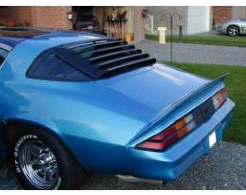 Astra Hammond Camaro 1975-1981 Rear Window Louvers, Aluminum 10516
