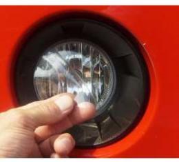 Camaro Fog Light Protector, Static Cling, 2010-2013