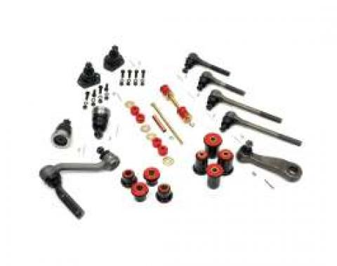 Camaro Suspension Overhaul Kit, Major, With Polyurethane Bushings, For Cars With Standard Ratio Manual Steering, 1967