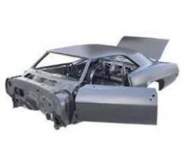 Camaro Full Body Assembly, Coupe, For Cars With Heater Delete, 1969