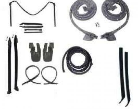 Camaro Convertible Top & Body Weatherstrip Kit, 1967