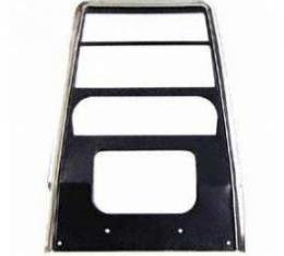 Camaro Dash Panel, Center, For Cars With Air Conditioning, 1967-1968