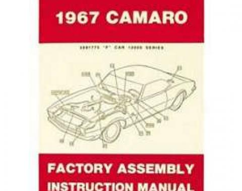 Camaro Factory Assembly Manual, 1967