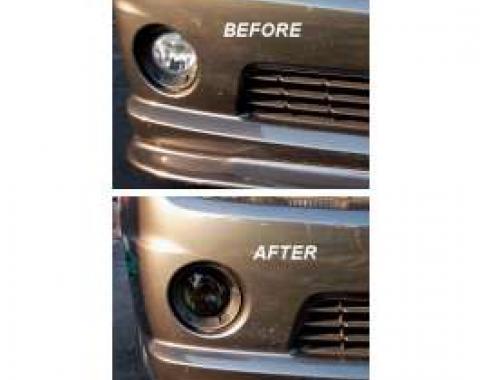 Camaro Blackout Kit, Fog Light, 2-Piece, 2010-2013