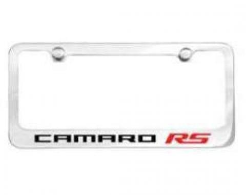 Camaro License Plate Frame, RS, 2010-2013