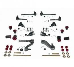 Camaro Suspension Overhaul Kit, Major, With Polyurethane Bushings, For Cars With Quick Ratio Power Steering, 1968-1969