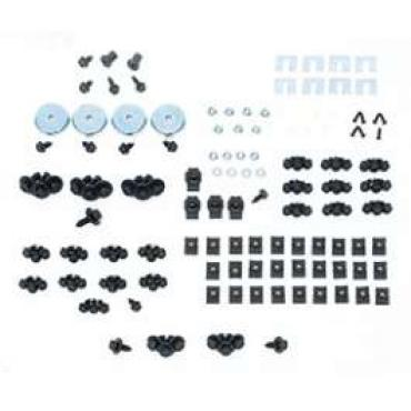 Camaro Basic Front End Assembly Hardware Kit, For Cars With Standard Trim (Non-Rally Sport), 1967-1968