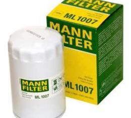 Camaro Oil Filter, LT1, MANN-FILTER, 1993-1997