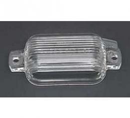 Camaro License Plate Light Lens, 1967-1969