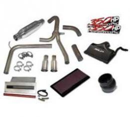 "Camaro SLP Performance Pac, Loud Mouth 3.5"" Dual Slash Tips, 2000-2002"