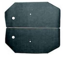 Camaro Door Panel Watershield Set, Convertible, 1968-1969