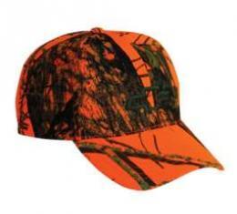Chevy Cap, Bowtie Mossy Oak Breakup, Orange