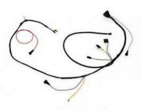 Camaro Engine Wiring Harness, Small Block, With TH400 Automatic Transmission, 1970