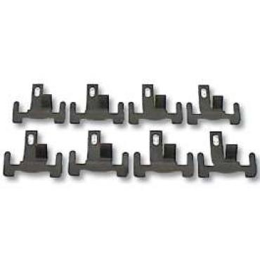Camaro Windshield Lower Molding Clip Set, Center, Coupe & Convertible, 1967-1969