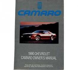 Camaro Owner's Manual, 1990