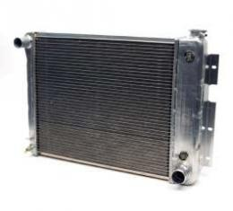 "Camaro Radiator, Aluminum, 21"", Griffin HP Series, For Cars With Automatic Transmission, 1967-1969"