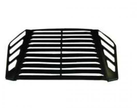Camaro Louvers, Rear Window, Aluminum, Without Third Brake Light, 1982-1992