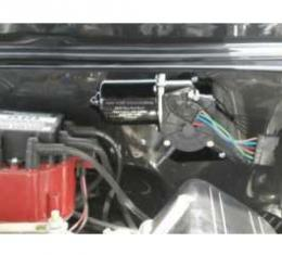 Camaro Electric Wiper Motor, Replacement, With Delay Switch, 1967