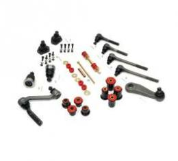 Camaro Suspension Overhaul Kit, Major, With Polyurethane Bushings, For Cars With Quick Ratio Power Steering, 1967