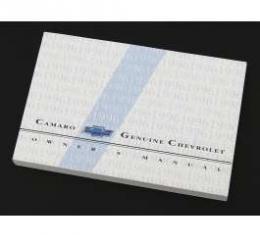 Camaro Owner's Manual, 1996