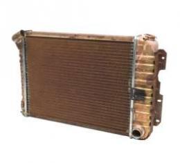 69 Camaro Original Radiator 4 Core M/T