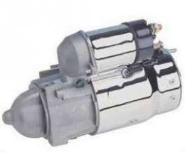 Camaro Engine Starter, For Cars With Manual Transmission, Chrome, 1967-1969