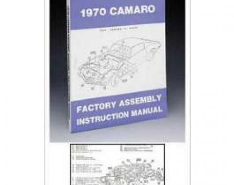Camaro Assembly Manual, 1970