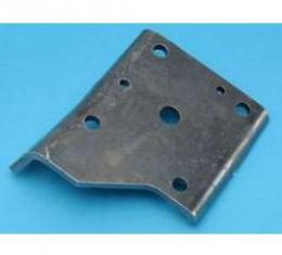 Camaro Shock Absorber Lower Mounting Plate, Left Or Right, Rear, For Cars With Multi-Leaf Springs, 1968-1969