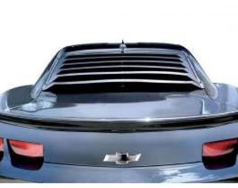 Camaro Louver, Rear Window, Aluminum, 2010-2014