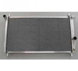 Camaro Radiator, Aluminum, For Cars With Manual Transmission, Be Cool, 1982-1992