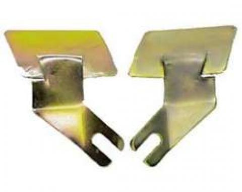 Camaro Windshield Lower Molding Clip Set, Outer End, Coupe, 1967-1969