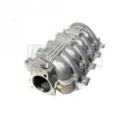 Camaro BBK SSI Titanium Silver Intake Manifold With 80mm MPIElectronic Throttle Body, 1997-2002