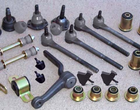 Camaro Suspension Overhaul Rebuild Kit, Front End Polyurethane, Deluxe, 1975-1979