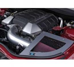 Camaro Cold Air Induction Intake System, Chrome like Powder Coated, 6.2L V8, 2010-2013