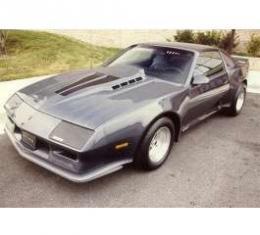 Camaro Hood, Daytona Style, 3 Rise, Fiberglass, 1982-1992