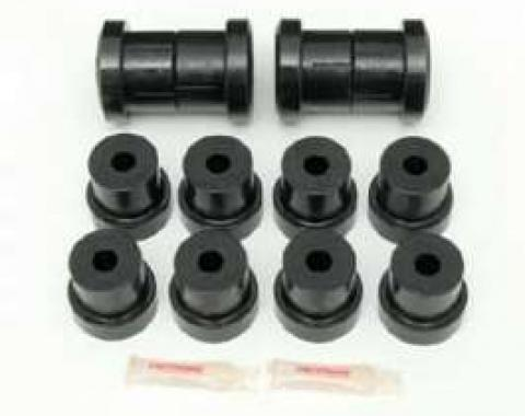 Camaro Rear Leaf Spring Bushing Set, Polyurethane, 1970-1981