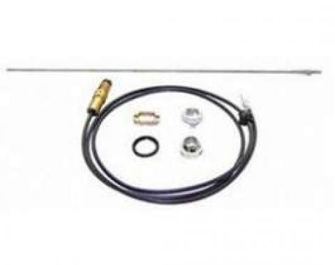 Camaro AM/FM Radio Antenna Assembly Kit, Front, 1967-1968