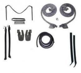 Camaro Convertible Top & Body Weatherstrip Kit, 1968-1969