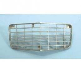 Camaro Center Grille, All Except Rally Sport, Silver, 1972-1973