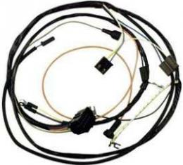 Camaro Engine Wiring Harness, 6 Cylinder, For Cars With Warning Lights, 1967
