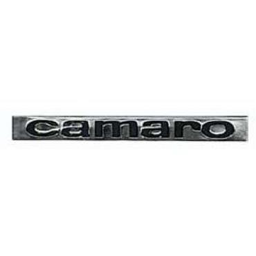 Camaro Header Panel & Deck Lid Emblem, Camaro, 1967