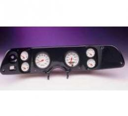 Camaro Dash Panel, With 6 AutoMeter Ultra-Lite Gauges, Black, 1970-1978